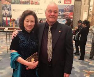 崔琴子院长受总领事邀请 参加德国统一日庆祝宴会